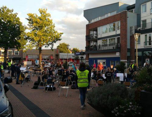 Concertje centrum door jeugdleden